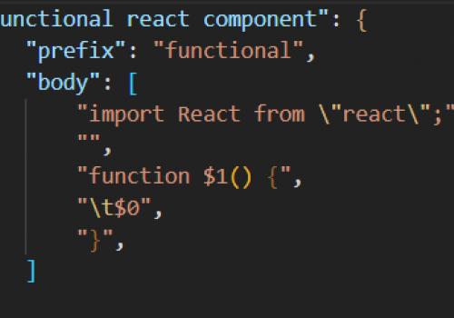 Effektivisera din utveckling med snippets i VS Code